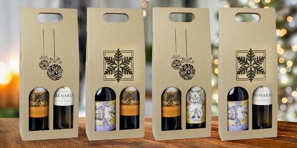 Dárkové balíčky vín z Bulharska i Francie