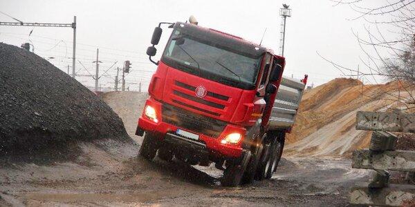 Jízda v nejnovějším náklaďáku Tatra Phoenix
