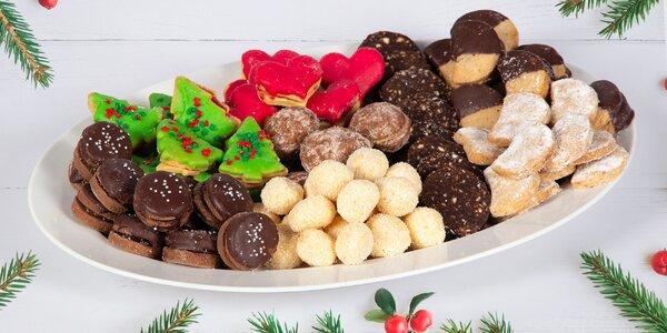 1000 g voňavého vánočního cukroví