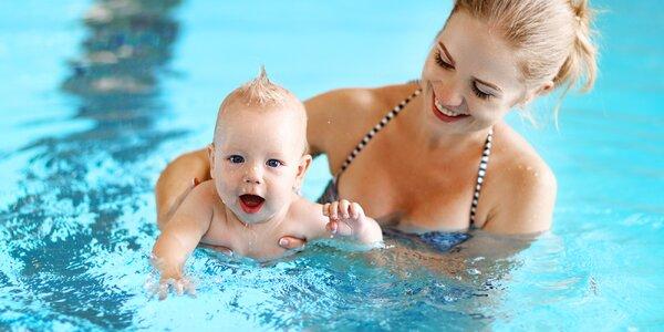 Kurz plavání kojenců v Praze