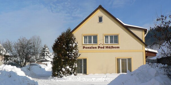 Rodinný pobyt v penzionu s biofarmou v Podkrkonoší