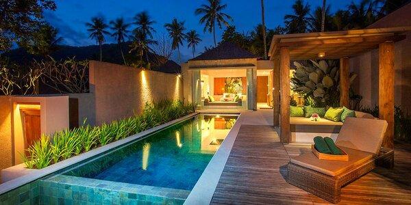 4* Candi Beach Resort & Spa na Bali se snídaní
