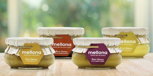 Raw med s oříšky, kávou, karobem nebo skořicí