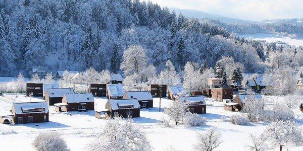 Zima v Beskydech v apartmánech či vilkách