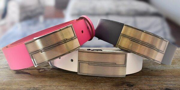 Elegantní kožené pásky pro muže i ženy