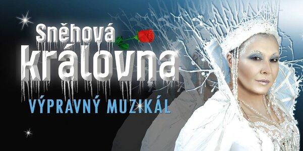 Muzikál Sněhová královna v divadle Hybernia