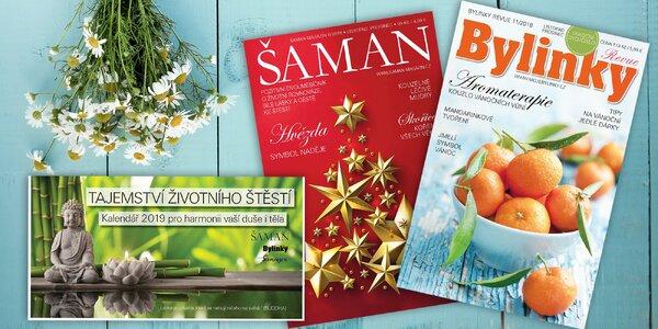 Bylinky revue a Šaman, ročník 2018 nebo kalendář