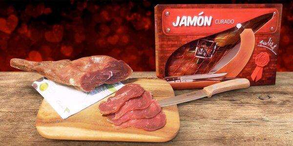 Španělská sušená kýta Jamón v dárkové krabičce