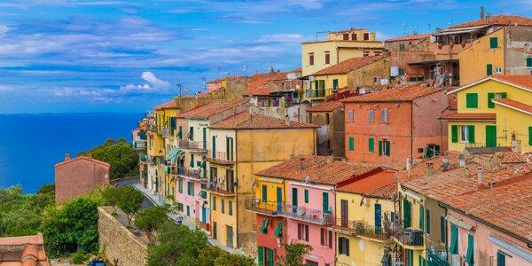 Italská Elba: pobytově poznávací zájezd na 4 noci