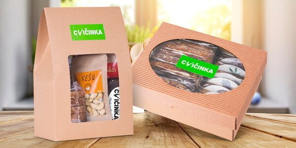 Balíčky zdravých a výživných produktů Cvičinka.cz