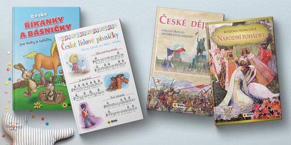 Dětské knihy: pohádky, zpěvník i přehled dějin