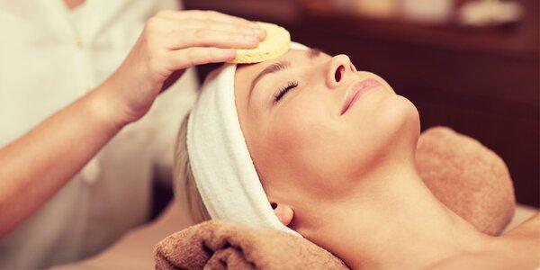Kosmetická ošetření s peelingem a masáží