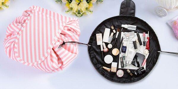 Praktický vak na kosmetiku: 3 různé vzory
