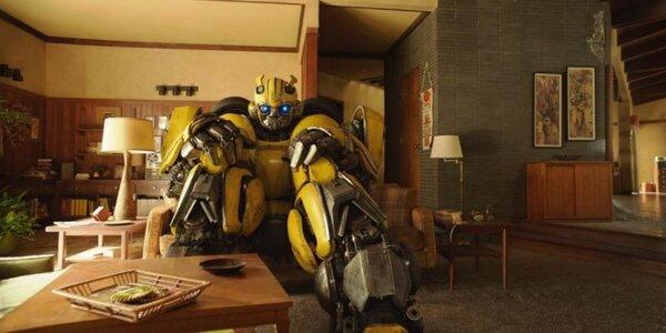 Vstupenka do kina na film Bumblebee