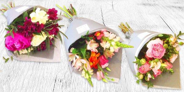 Krásná kytice včetně doručení po Praze