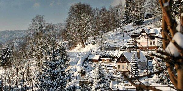 Zima, jaro i léto v Bedřichově pro dva s polopenzí