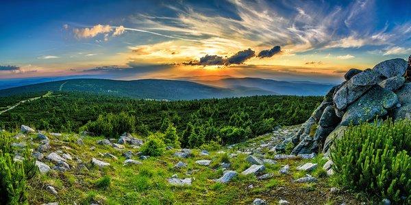 Pobyt v Harrachově s polopenzí od jara do podzimu