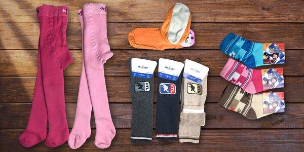 Dětské froté podkolenky, punčocháče a ponožky