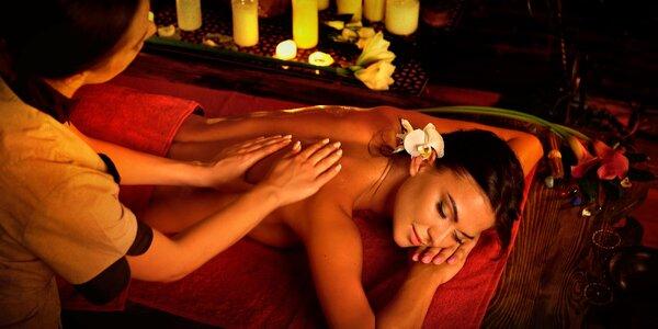 Pohlazení Thajska: Relaxační levandulová masáž