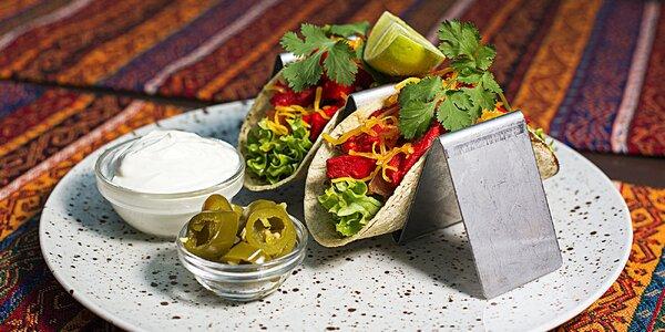 Indické, mexické či fitness polední menu pro 1–2