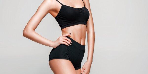Neinvazivní liposukce modrým laserem: 1 i 4 ošetření