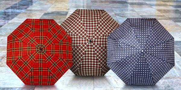 Pánské italské luxusní automatické skládací deštníky