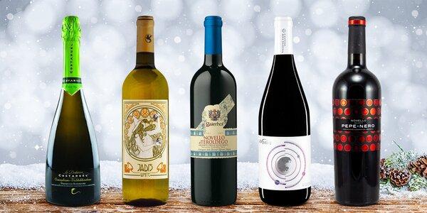 Vína z Itálie: Novello, Prosecco a Jadis