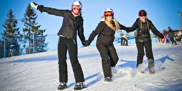 Pro bruslaře: Zapůjčení sněžných bruslí na víkend