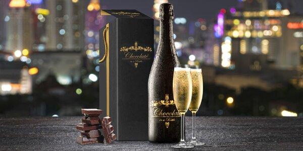 Čokoládové šumivé víno z francouzských vinic