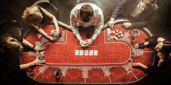 Napínavá úniková hra Casino pro 2–5 hráčů