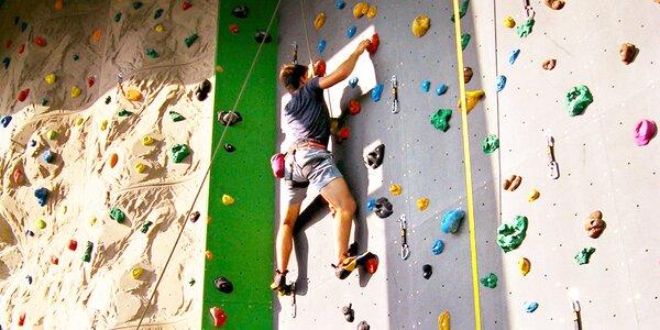 60 min. lezení s instruktorem až pro dvě osoby