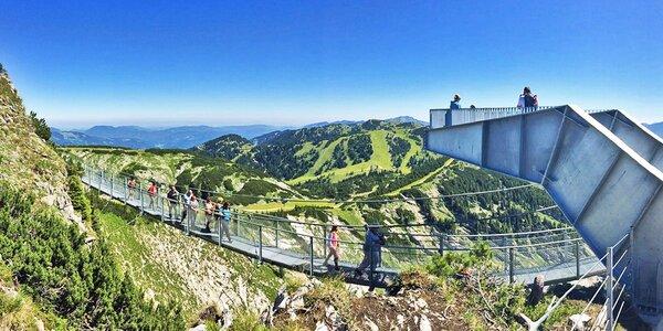 Rakouská soutěska Wasserlochklamm a Hochkar