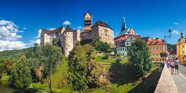 Jarní pobyt s polopenzí u kouzelného hradu Loket