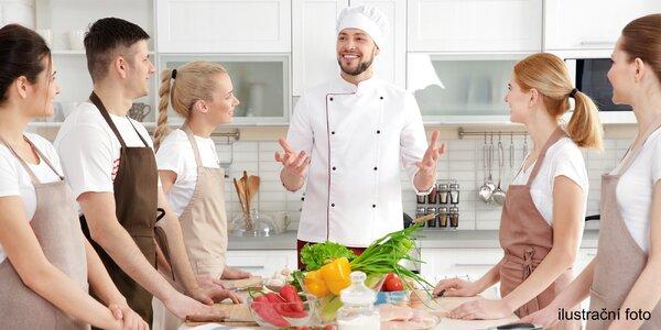 Kurz vaření a seminář o zdravé stravě s V. Chaloupkou