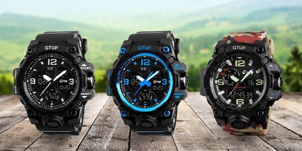 Sportovní hodinky Gtup 1050 odolné proti vodě