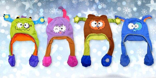 Ušáčci: Veselé dětské čepice s pohyblivými oušky