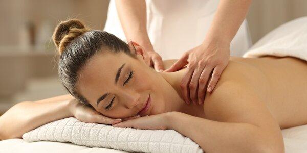 Hýčkající masáž pro ženy i muže