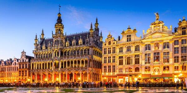 Letecky do Bruselu a Brugg, 2 noci se snídaní