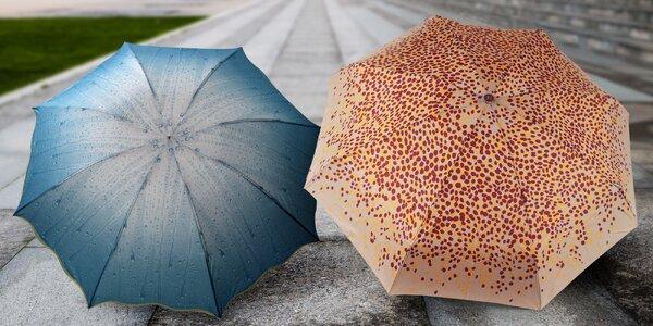 Originální deštník s motivem deště i minideštník