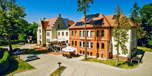 Polsko pro dva s neomezeným wellness i polopenzí