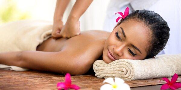 Exotická masáž dle výběru a čínské moxování