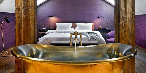 Prémiový pobyt v 5* hotelu se střešní vířivkou