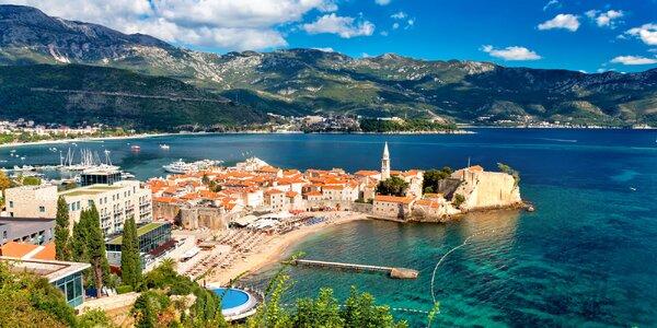 7 nocí v Černé Hoře v hotelu s bazénem a polopenzí