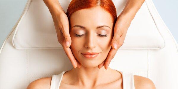 Relaxační omlazující kosmetické ošetření pleti
