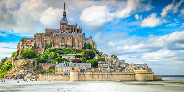 Krásy Normandie a Bretaně vč. dopravy a snídaně