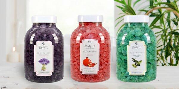Aromatické soli do koupele: Levandule i Oliva