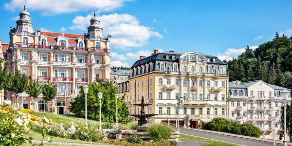 4 dny v centru Mariánských Lázní s bohatým wellness