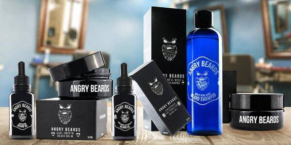 Set pro každého vousáče: olej, balzám i šampon