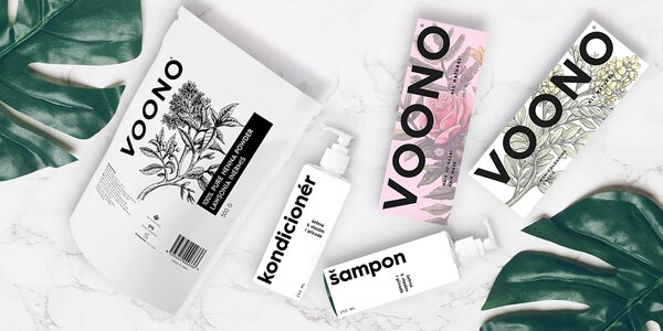 Přírodní vlasová kosmetika VOONO