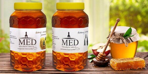 Med od českého výrobce: 1 či 2 plastové nádoby
